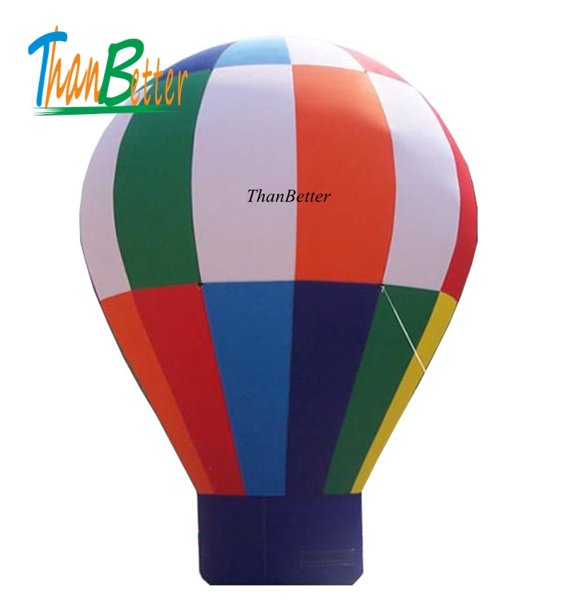 customizable hot selling big giant inflatable rainbow balloon Inflatable air ground balloon advertising product
