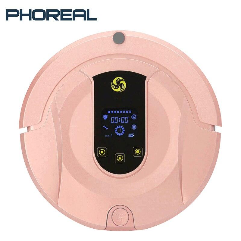 PhoReal FR8 wifi robot aspirateur Sans Fil Itinéraire Prévu Robotique aspirateur Humide Et Sec Auto Charge