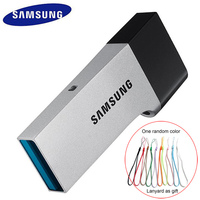 SAMSUNG USB Flash Drive USB3 0 32GB Disk OTG Metal Super Mini Tiny Pendrive Memory Stick