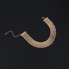 Fashion Wide Chain Choker Women's Necklace