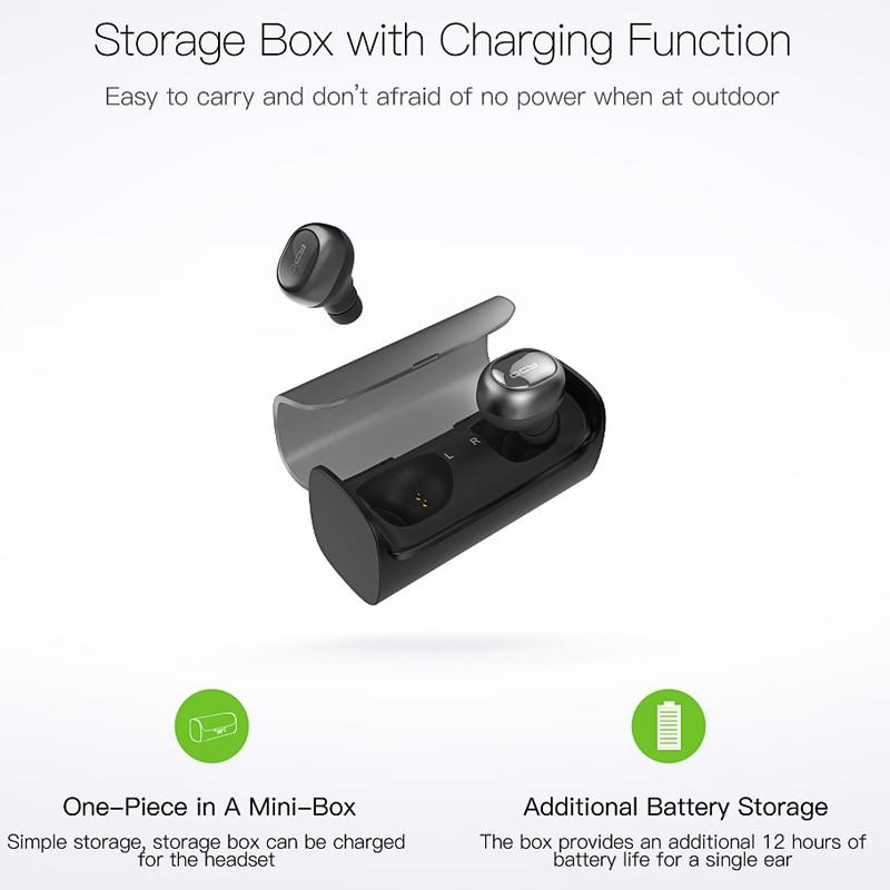 QCY Q29 TWS business Bluetooth-hörlurar trådlösa - Bärbar ljud och video - Foto 4