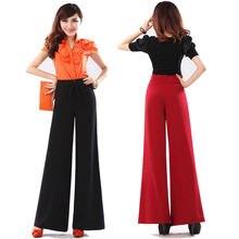 Женские брюки с широкими штанинами повседневные кюлоты внутренней