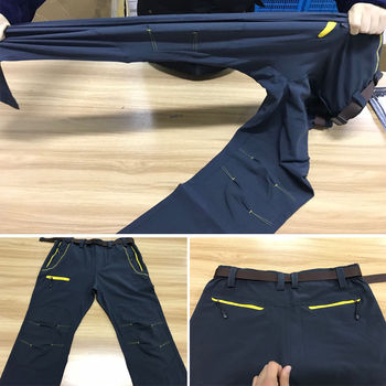 LOMAIYI Elastic Ultra-Thin Quick Dry Male Cargo Pants Men 2018 Summer Black Men's Trousers Fashion Casual Mens Sweatpants,AM119 2