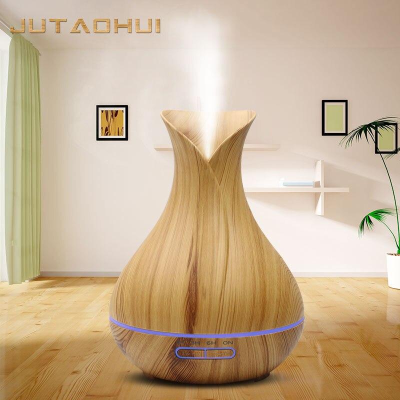JUTAOHUI 400ml humidificateur d'air à ultrasons brumisateur électrique arôme diffuseur huile essentielle aromathérapie ménage pour la maison