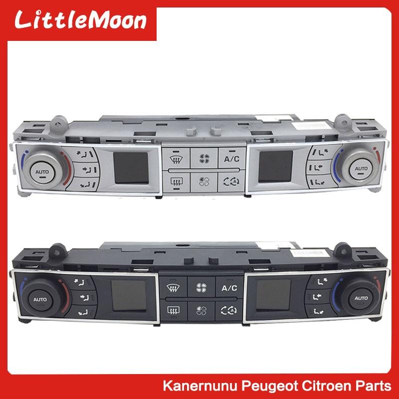 LittleMoon Original brand new air conditioning switch Air adjustment button panel For Citroen C5