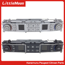 LittleMoon Original brand new air conditioning switch Air conditioning adjustment button Air conditioning panel For Citroen C5 95% new used original for air conditioning control board 2p206569 2p206569 3 ftxs46jv2cw motherboard