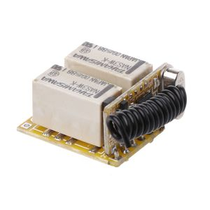 Image 3 - Relay Remote Switch 2CH DC3.7V 4.2V 5V 6V 7.4V 8.4V 9V 12V Output 0V Dry Contact Relay Switching Value NO COM NC 315MHz 433MHz
