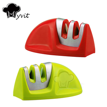 Knife Sharpener Whetstone Kitchen Knives Sharpening Stone Grindstone Grinder Stone Two Stages Diamond And Ceramic Household Tool 4