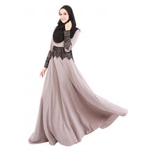 цены Muslim Women Long Sleeve Slim Dress Maxi Kaftan Abaya Jalabiya Islamic Women Dress Clothing Robe