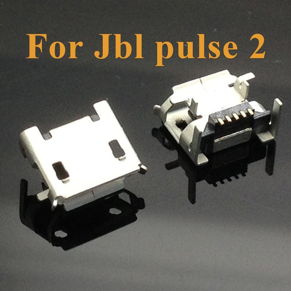 2pcs 5pcs 10pc For Jbl Pulse 2 Bluetooth Speaker Heightened 5pin Tablet PC PAD Charge Port Socket Micro Mini USB Jack Connector