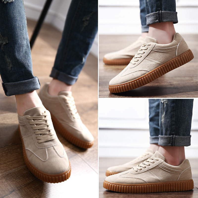 KUYUPP Men Casual Shoes quality creepers suede shoes size 39-44 luxury men shoes flats chaussure femme 2017 spring autumn Y171 (2)