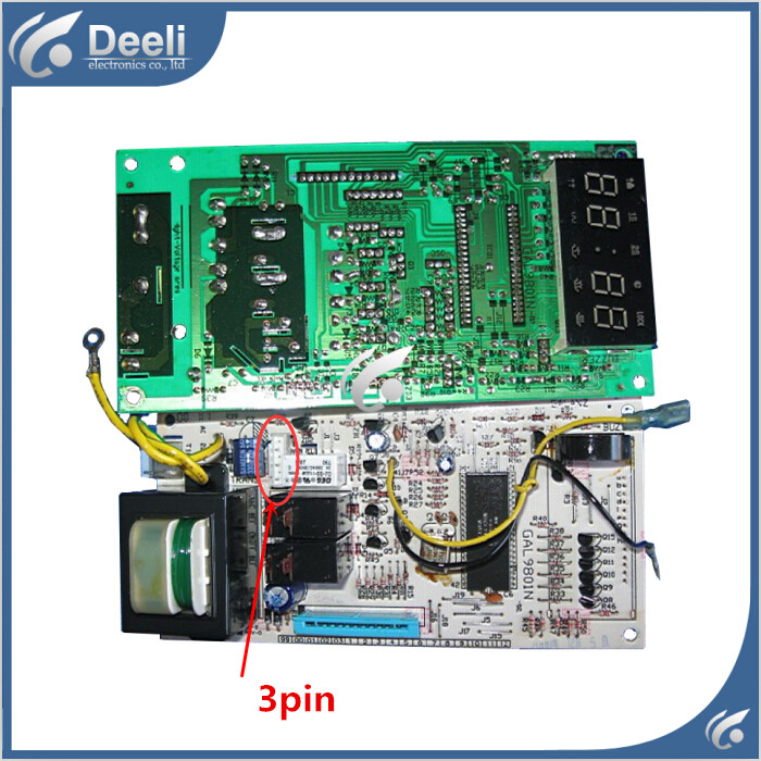 95% new used Original for refrigerator board  WD900B WD900ASL23-2 GAL9801N-02 Computer board