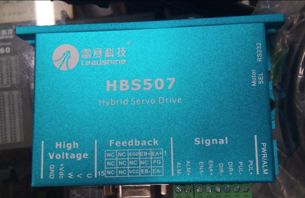 Всего 3 шт. много Leadshine Гибридный (hbs507 + 573hbm20 ec 1000) + SPS407 источника питания + 3 шт. датчика расширение 6 М Длинные