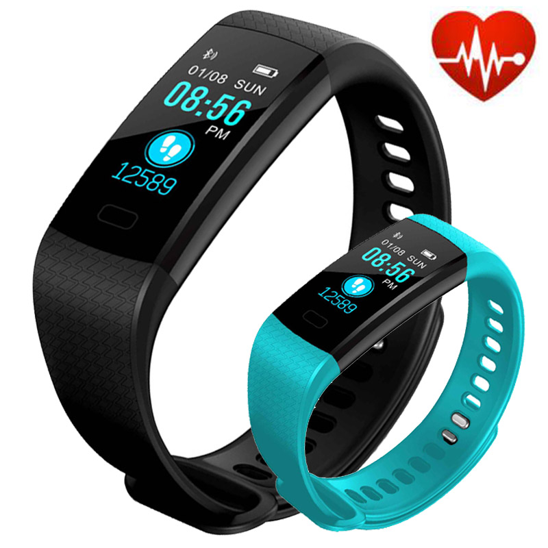 Y5 Smart bracelet Wristband Pulsometer Blood Pressure Heart Rate Monitor Pedometer Activity Fitness Tracker Watch Band Smartband