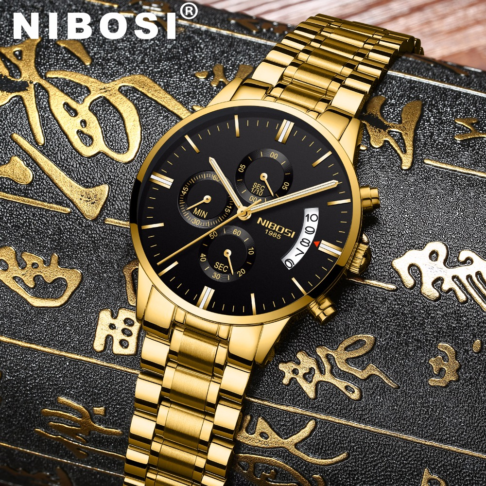 fd6c41121d7 Relógios de Quartzo marca de luxo de quartzo Color   Oro   Plata   Negro