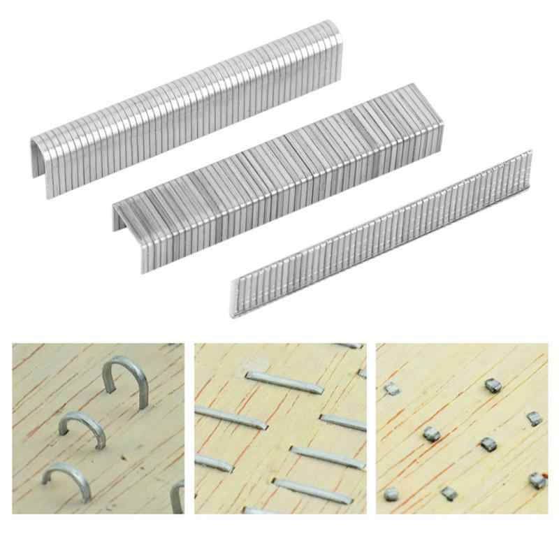 1000pcs/lot Staple Nails Stainless Steel  Nails Fasteners for Handheld Staple Gun Stapler
