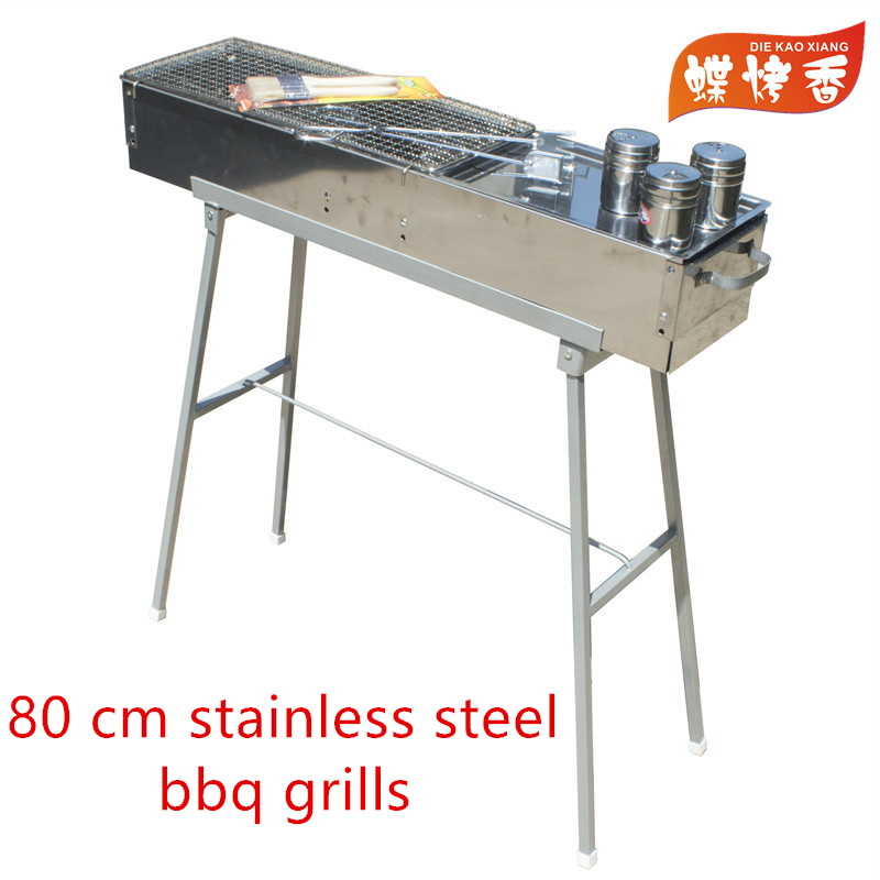 die kao xiang 32 stainless steel charcoal grill portable bbq grill yakitori kebab satay - Stainless Steel Charcoal Grill