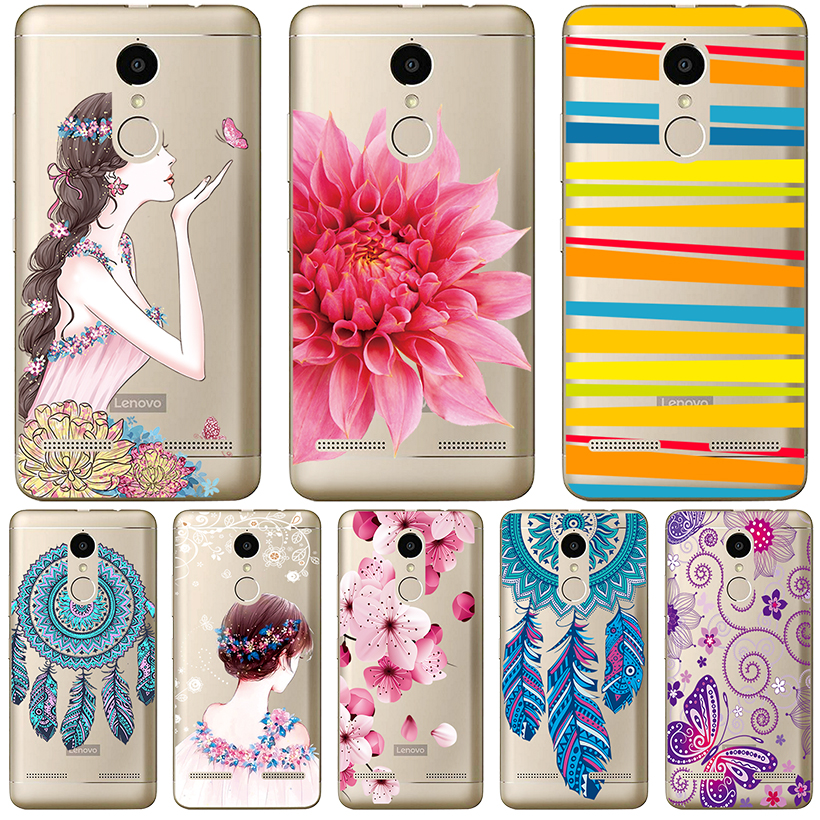<font><b>Phone</b></font> <font><b>Cases</b></font> <font><b>For</b></font> <font><b>Lenovo</b></font> Vibe B A1010 C A2020 C2 <font><b>Case</b></font> <font><b>For</b></font> <font><b>Lenovo</b></font> K5 K5 Plus A6020 P70 Cover Transparent Painted Silicone Soft TPU image