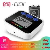 Cigii Bras blood pressure Pulse moniteur LCD Portable Soins de Santé À Domicile 1 pcs Numérique Tonomètre Compteur Impulsion oxymètre