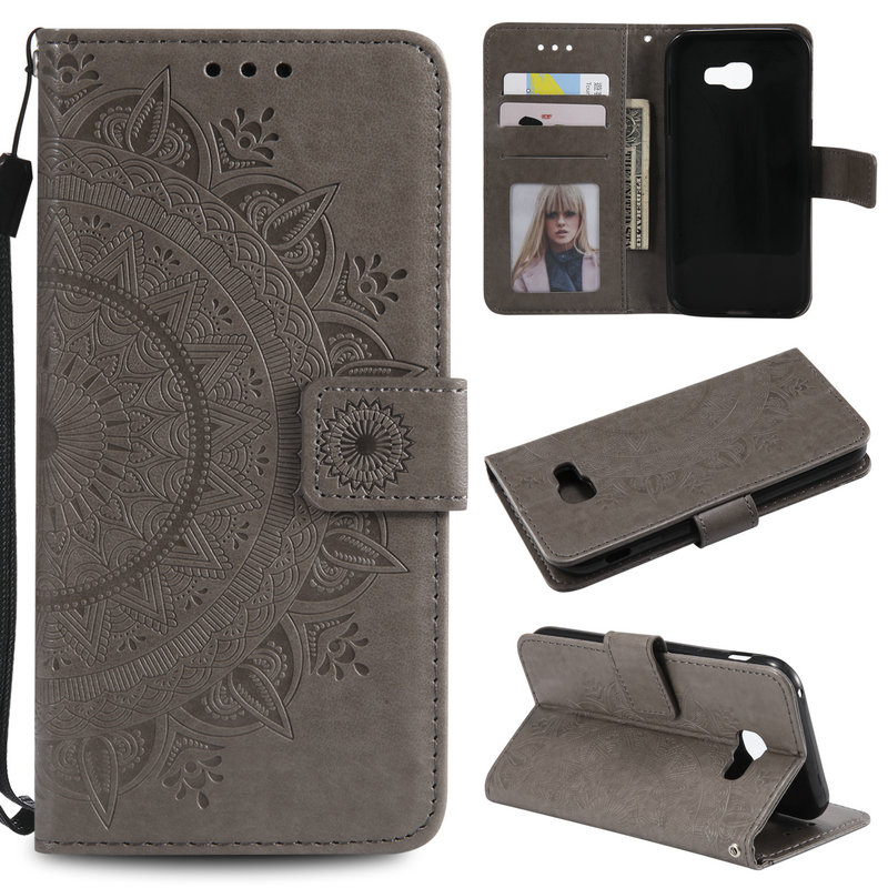 Leather Wallet Stand for Coque <font><b>Samsung</b></font> <font><b>A5</b></font> 2017 Case <font><b>Galaxy</b></font> A520 A510 Phone cover for <font><b>Samsung</b></font> <font><b>Galaxy</b></font> <font><b>A5</b></font> 2016 Case A 5 <font><b>510</b></font> 520 image