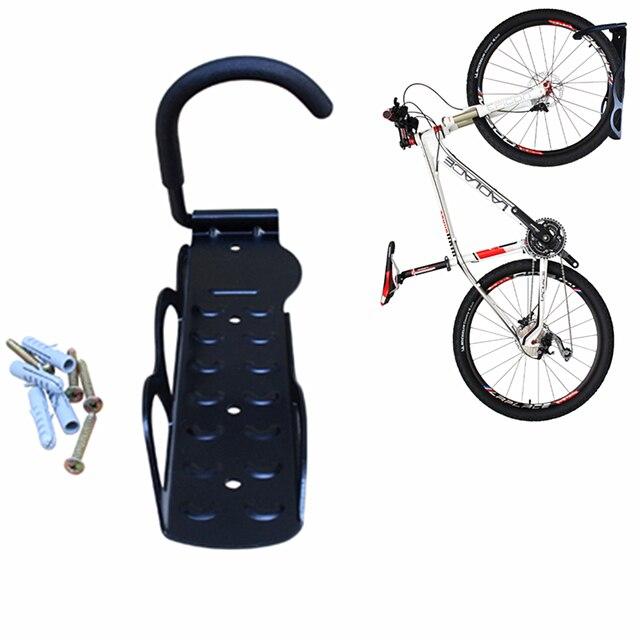 9a9091a87 Atacadista preço Mountain Bike de Aço Pendurado Rack de Bicicleta Gancho Da  Parede Preta Material de
