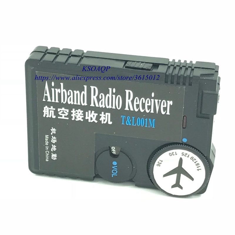 US $13 01 7% OFF|118MHz 136MHz air band radio receiver Airband Radio  Receiver aviation band receiver for Airport Ground-in Radio from Consumer