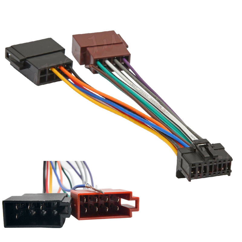 PATCH LEAD FOR DEH-X6750BT FH-X575UI FH-X775BT PIONEER 16 PIN TO ISO HARNESS