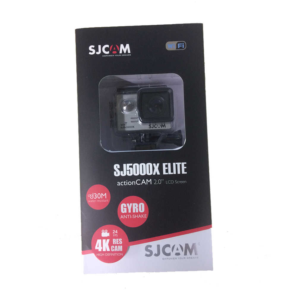 Оригина lsjcam SJ5000X Elite экшн Камера Wi-Fi 4 K 24fps Gyro Спортивная DV 2,0 ЖК-дисплей NTK96660, позволяющая погружаться под воду на глубину до 30 м Водонепроницаемый видеокамера