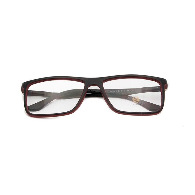 ESNBIE Men Glasses Plastic Titanium Glasses Frame Women Optical Tr 90 Eyeglasses Square Myopia Optical Frame Oculos De Grau in Men 39 s Eyewear Frames from Apparel Accessories