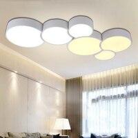 Modern Creative Led Ceiling Lights 4 Modes For Indoor Lighting plafon Cells shape Ceiling Lamp Fixture For Bedroom Decoration