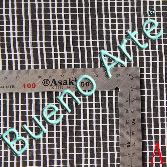 30cmx30cm Waterproof White Fiberglass Mesh For Mosaics For Diy