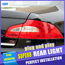 Orignal Car Parts Tail Lamp for Skoda Superb Taillight assembly Replacement 4pcs per set rear lamp Tail Lamp drl+signal+brake.
