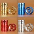4PCS RC 1:10 On-Road Drift Racing Aluminum Wheel Rim Fit HSP HPI Kyosho 1:10 On-Road Car Golden Wheel Rim IOD061