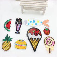 NEW  ombination mix 9 pcs sticker stickers jeans clothes iron in DIY dress hat accessories dresses sewn patch