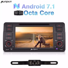 Pumpkin 2 Din 7 Android 7 1 Car DVD Player For BMW E46 M3 318 GPS