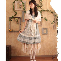 Forest Mori Girl 2016 Women S Floral Pattern Embroider Classic Lace Dress Japanese Style Lolita School