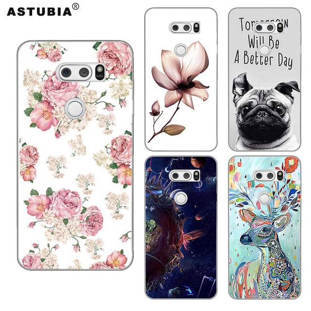 100% authentic 59ed9 2e294 US $4.32 |For LG V30 Case For LG V30 Cover For LG V30 Case Silicone DIY  Name Painted Back Cover Original Case For LG V30 Phone Cases 6.0