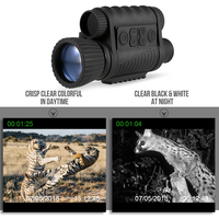 6X50 Digital Night Vision Monocular Zoom Photo Video Camera TFT LCD Display 720P Video 350m Distance Night Watching Observation