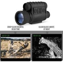 6X50デジタルナイトビジョン単眼ズーム写真ビデオカメラtft液晶ディスプレイ720 1080pビデオ350メートル距離ナイト見て観察