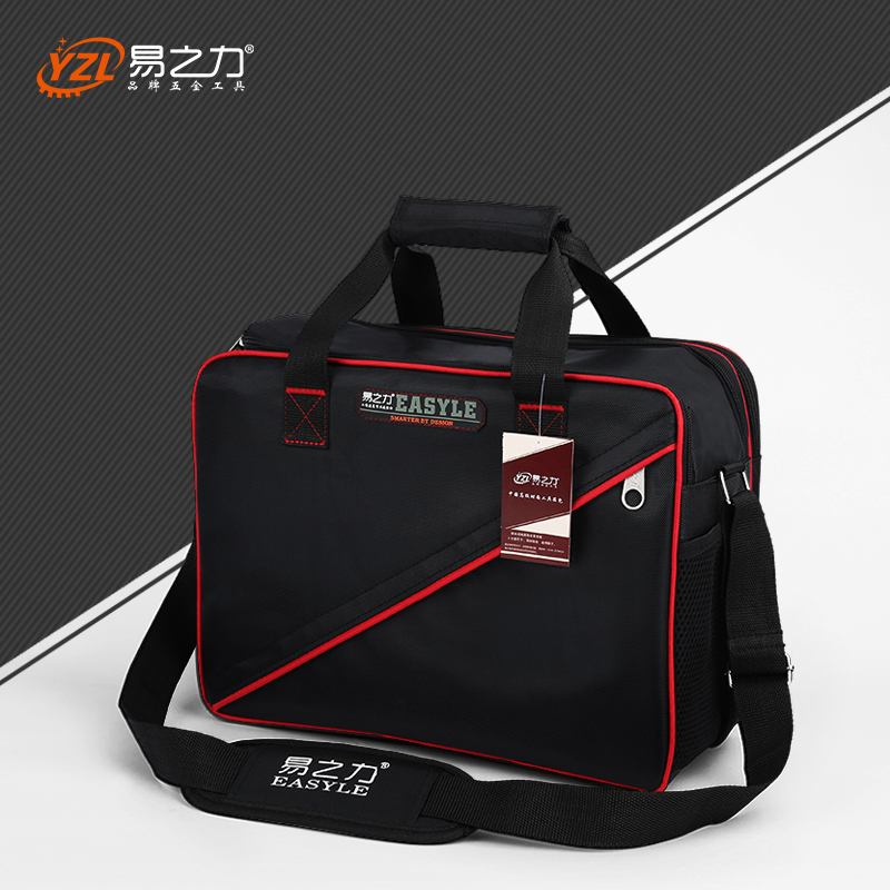 Newest Medium size Multi-Layers Fabric Oxford Tool bags Single Shoulder Portable Kit waterproof case Tool without tools bestir three size the middle pvc fabric oxford tool bags waterproof case handbag toolkit with knapsack belt 05132