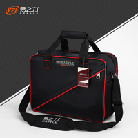 Newest Medium Size Multi Layers Fabric Oxford Tool Bags Single Shoulder Portable Kit Waterproof Case Tool