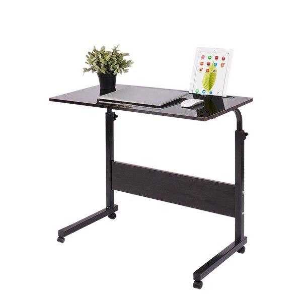 Plus récent Levage Bureau D'ordinateur Mobile Chevet Canapé Lit D'apprentissage Portable socle de bureau Table Table ajustable pour d'ordinateur portable