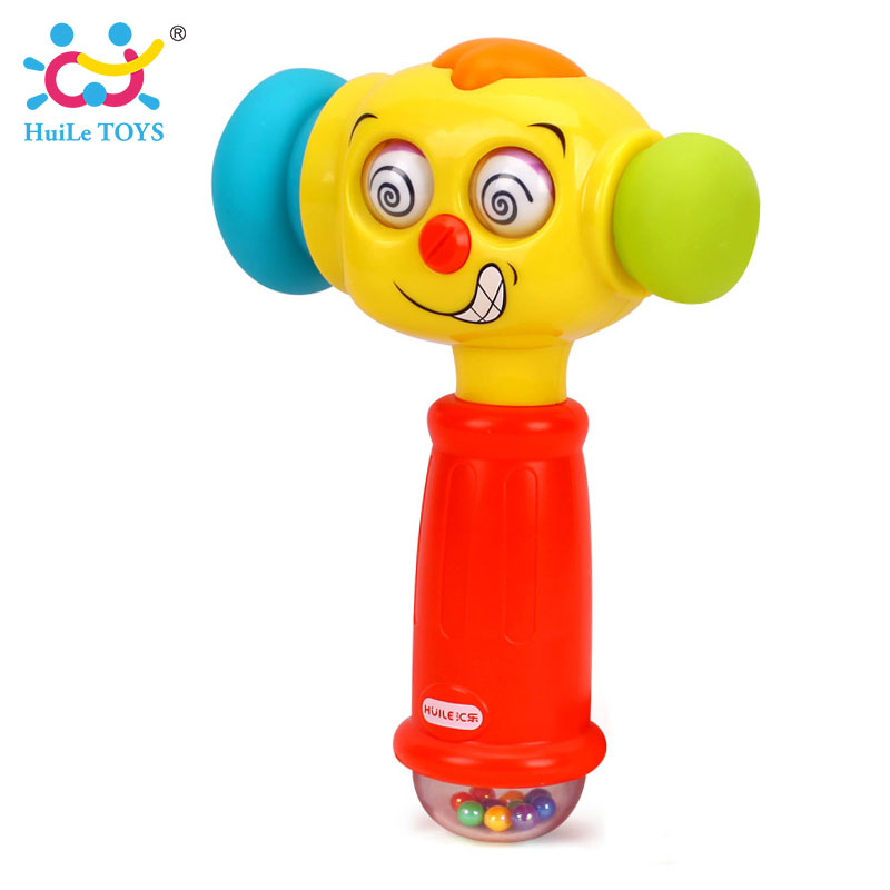 HUILE-TOYS-3115-Baby-Toys-Toddler-Play-Hammer-Toy-with-Music-Lights-Electric-Toys-Improve-Babys-Operation-Ability-12-month-3