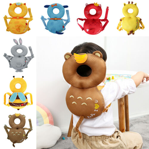 NEW Toddler Baby Head Protector Safety Pad Cushion Back Prevent Injured 4-24M Headrest Pillows