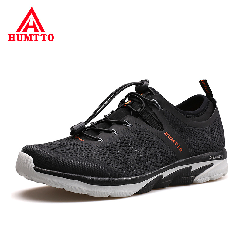 Buy Best Selling Breathable Brand Shoes Man Outdoor Light Men Mesh Casual Sneakers Fashion Elastic Band Non-slip Male Shoes