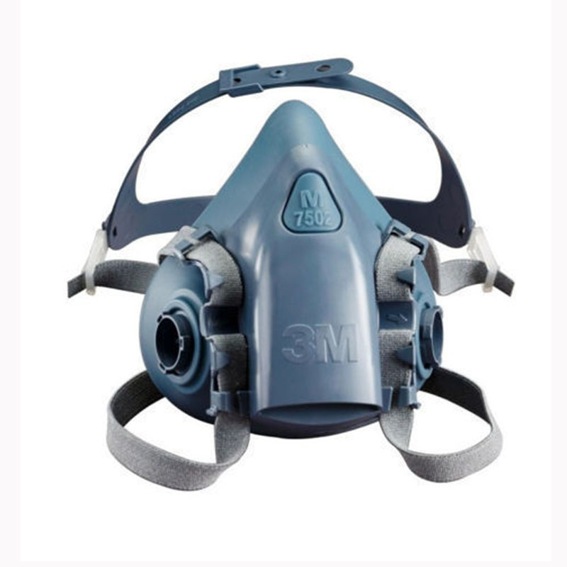 Image 5 - 9 In 1 Suit Gas Mask Half Face Respirator Painting Spraying For 3 M 7502 N95 6001cn Dust gas Mask Respirator-in Chemical Respirators from Security & Protection