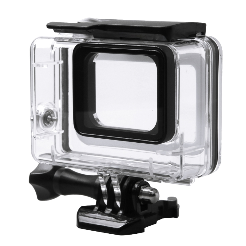 45M Underwater Diving Waterproof Case For Gopro Hero 5 Hero5 Action Camera Go Pro Accessories Transparent Waterproof Case
