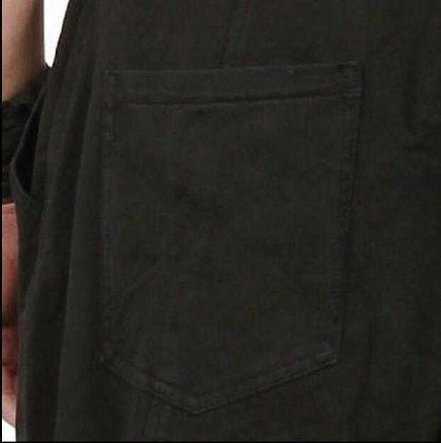 Mâle Outillage Black Seule D'une Costumes Pantalon La Plus Harlan 2017 Pièce 27 44 Salopette De Petit Chanteur Mode Pieds Vêtements Lâche Hommes Taille pUZUY1Bwq