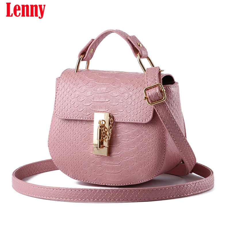 017 Handbag Phone Purse Women Small Bag Imperial Crown PU Leather Women Shoulder Bag Small Shell
