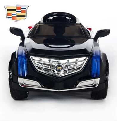 The new dual drive Cadillac four children electric car baby stroller